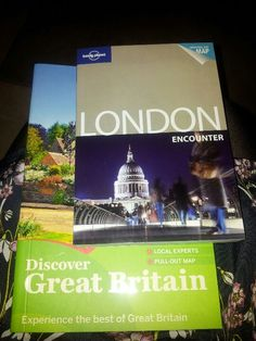 Have purchased Lonely Planet guides - am now proper traveller.