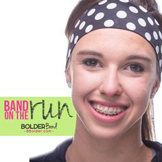 We are saying goodbye to a cute BOLDERBand Headband pattern: Dottie to make room for new and exciting colors and patterns. If you like a white polka dot grab one fast before we run out. As with all of our patterns and colors, supplies are limited so don't wait!