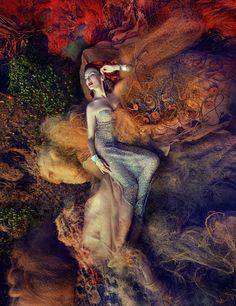Nereides by Andrey Yakovlev Lili Aleeva, via Behance