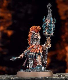 The Auric Runemaster in Warhammer, Age of Sigmar #Warhammer #AgeOfSigmar #Aos…
