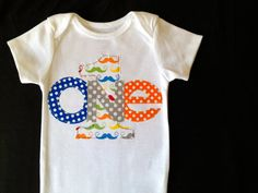 Hey, I found this really awesome Etsy listing at http://www.etsy.com/listing/129879829/first-birthday-boy-mustache-onesie-blue