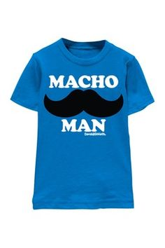 David & Goliath Kids Macho Man Tee