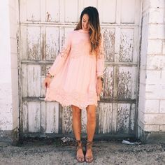 Lace Interlude Dress from http://hotcommodesty.com/collections/dresses/products/lace-interlude-dress-in-pink