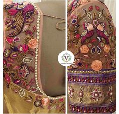 transparent net maggam work blouse scaled e1584377274494 Wedding Saree Blouse Designs, Saree Wedding, Aari Work Blouse, Silk Sarees, Alexander Mcqueen Scarf, How To Look Better, Photo And Video, Bride, Bags