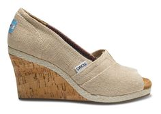 They are chic, they ain't shabby. For the girly girl in your life, these wedges are pretty spot on!