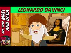 Art with Mati and Dada – Leonardo Da Vinci | Kids Animated Short Stories in English - YouTube