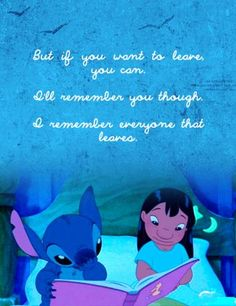 """The post ideas quotes disney cute disneyland"""" appeared first on Pink Unicorn Quotes Lilo Stitch, Stitch Movie, Cute Stitch, Lilo And Stitch Tattoo, Sad Movies, Disney Movies, Indie Movies, Sad Disney Quotes, Disneyland Quotes"""