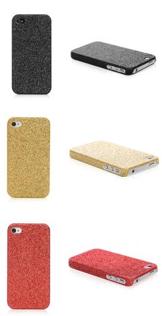 Glitter iPhone 4 Metal Cases