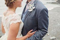 Beach wedding, Tunnels Beaches, Ilfracombe, Cotton Candy Weddings