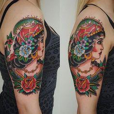 By @bhannya  #reddeer #classictattooreddeer #reddeer #reddeertattooshop by classic_tattoo