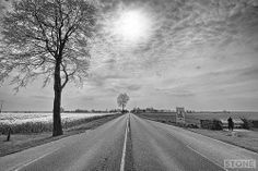 Somme Landscapes - Albert Bapaume Road Pozieres