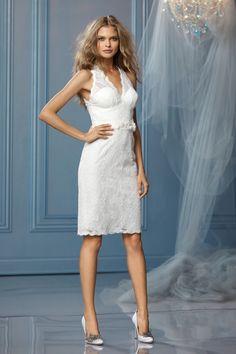 For the informal or destination wedding - WTOO Wedding Dresses - Style Tahiti 10432 #watters #weddingdress
