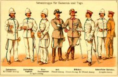 german police 1900 | http://www.warflag.com/shadow/uniforms/uniform.htm