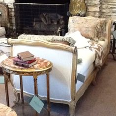 French antique Daybed from Fireside Antiques