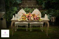 Divina mesa de Novios por www.bougainvilleabodas.com.mx... – Wedding Planner en San Miguel de Allende.
