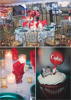 coke wedding details @weddingchicks