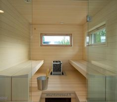 Sauna Bathroom Ideas Bath House Home Indoor Design Decoration Portable Steam Sauna, Sauna Steam Room, Sauna Room, Home Steam Room, Steam Bathroom, Living Room Speakers, Modern Saunas, Sauna Shower, Quonset Homes