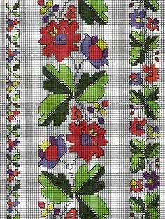 Cross Stitch Art, Cross Stitch Borders, Cross Stitch Flowers, Cross Stitch Designs, Cross Stitching, Cross Stitch Embroidery, Cross Stitch Patterns, Blackwork Patterns, Embroidery Patterns