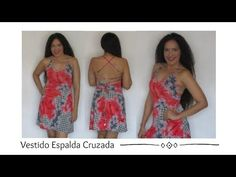Aprende con SANDRA PADILLA : VESTIDO ESPALDA CRUZADA Strapless Dress, Prom Dresses, Summer Dresses, Formal Dresses, Sewing Patterns, Womens Fashion, Blog, Dress Making, Sewing Projects