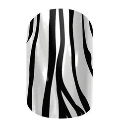 Zebra  nail wraps by Jamberry Nails-  being discontinued at the end of August. Get it now! 4girls.jamberrynails.net