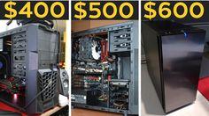 $400, $500, $600 GAMING PCS! - Budget PC Builds October 2016
