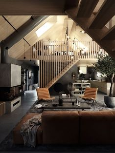 〚 Stylish dark interiors of wooden cottage in Sweden 〛 ◾ Photos ◾Ideas◾ Design Dark Interiors, Cottage Interiors, Cabin Homes, Cottage Homes, Cottage House Designs, Design House Stockholm, Wooden Cottage, Cottage In The Woods, A Frame House