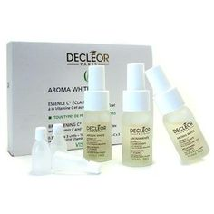 Aroma White Brightening C+ Essence by Decleor - 3543285901 by Decleor. $116.35. Size - 3x10ml/0.33oz. An aromatic brightening beauty essence,Contains vitamin C to restore skin's luminosity,Effectively helps correct pigmentation irregularities,