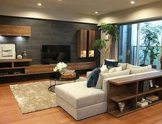 Ideas for small house design interior sofas Elegant Living Room, Living Room Modern, Living Room Designs, False Ceiling Living Room, Living Room Tv, Small House Interior Design, Small Room Bedroom, Master Bedrooms, Modern Homes