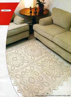 Crochet everything. Crochet Doily Rug, Crochet Carpet, Crochet Wool, Filet Crochet, Kids Crochet, Crochet Stitch, Painting Carpet, Beige Carpet, Doily Patterns