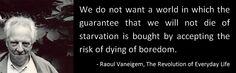 Raoul Vaneigem   The Revolution of Everyday Life