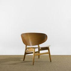 Shell Chair by Hans Wegner for Fritz Hansen, Denmark 1948