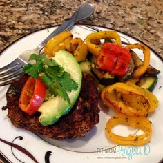 These 21 Day Fix approved Southwest Black Bean Burgers are so flavorful - they left my husband wanting more and my kids plates clean - dinner for the win!