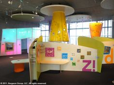 Light Tower Zone, Vancouver, WA. Also from Burgeon Group. This location has a lot of interesting interactives.