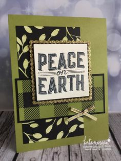 Carols of Christmas card using Stampin Ups Merry Little Christmas DSP by Kate Morgan, Independent Demonstrator Australia