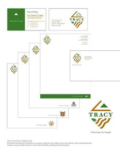 City of Tracy Corporate Identity Design