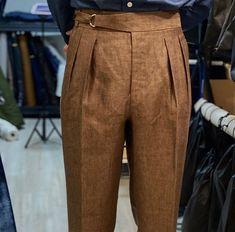 1940s Mens Fashion, Mens Fashion Suits, Fashion Pants, Fashion Outfits, High Waisted Dress Pants, Mens Dress Pants, Summer Formal Dresses, Vegas Outfits, Club Outfits