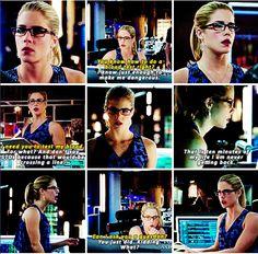 Arrow 3x06 Felicity