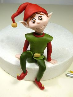 Un Pandoro… con un simpatico Elfo | My Cake Design