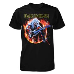 Tricou Iron Maiden: Fear Live Flames