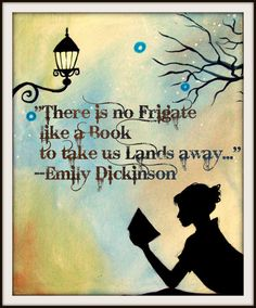 Items similar to Tree Poster Print Modern Art Wall decor.Emily Dickinson Quote Literature Reading ART Print by HD Greer on Etsy I Love Books, Good Books, Books To Read, My Books, Reading Quotes, Book Quotes, Emily Dickinson Quotes, I Love Reading, Reading Art