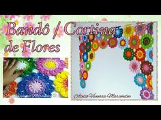 Wecome to the Video Player - mobile version. Crochet Motif, Crochet Flowers, Crochet Lace, Crochet Curtains, Crochet For Beginners, Floral Motif, Flower Power, Diy And Crafts, Sewing