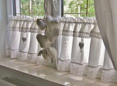 225 fantastiche immagini su tende per cucina | Window treatments ...