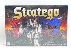 New Sealed Milton Bradley Stratego Capture The Flag 1999 Board Game 04714   eBay  -  SOLD