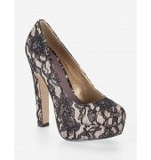 Madden Girl Mellony Lace Pump