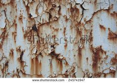 Abstract background of rusted metal surface - stock photo