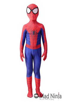 Movie The Amazing Spider-man 2 suit replica safety for kids. Oeko-Tex  sc 1 st  Pinterest & The Amazing Spider man costume kit | Pinterest | Spiderman costume ...