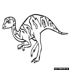 leaellynasaura online coloring page
