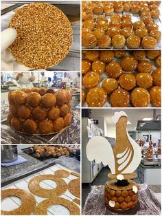 Discover through this step not how to simply make a croquembouche. Guaranteed tips and recipes! Croquembouche, Chefs, Cake Recipes, Dessert Recipes, Desserts With Biscuits, French Patisserie, Choux Pastry, Fancy Desserts, Eclairs