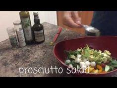 Our Favorite Salad Recipe : the Prosciutto Salad!