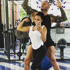 a little workout and play time with my baby before I start filming with in beautiful Thailand Wwe Total Divas, Wwe Divas, Wwe Fanfiction, Wwe Couples, Wwe Pictures, Eddie Guerrero, Extreme Workouts, Wwe Wallpapers, Wrestling Wwe